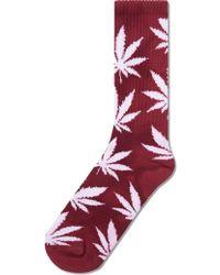 Huf - Tie Dye Plantlife Crew Socks - Lyst