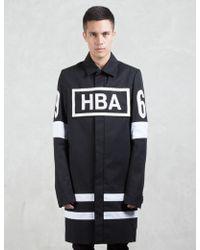 Hood By Air - Box Logo Duster Coat - Lyst