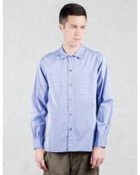 Factotum - Tapered L/s Shirt - Lyst