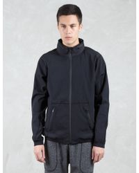 Steven Alan - Stretch Nylon Stow Away Hooded Jacket - Lyst