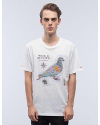 Staple - World Pigeon T-shirt - Lyst