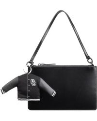 Opening Ceremony - Shiny Calf Nev Zip Clutch - Lyst