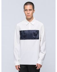Opening Ceremony - Lincoln Twill Pullover Shirt - Lyst