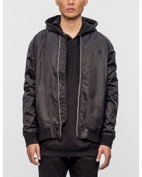 The Quiet Life - Middle Of Nowhere Satin Jacket - Lyst