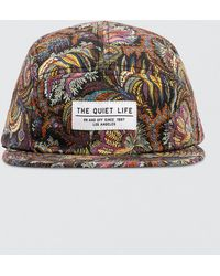 The Quiet Life - Liberty Paisley Coral 5 Panel Hat - Lyst