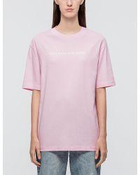 NSFW Clothing - Linear Ss T-shirt - Lyst