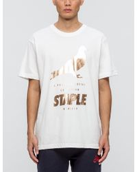 Staple - Foil Pigeon T-shirt - Lyst