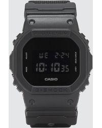 G-Shock - Dw5600bbn With Cordura® Strap - Lyst