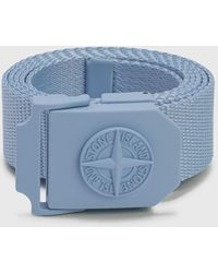 Stone Island Nylon Tape Belt - Blue