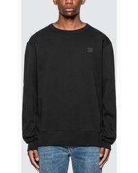 Acne Studios Mini Face Patch Sweatshirt - Black