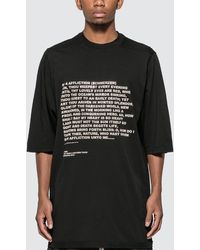 Rick Owens Drkshdw Jumbo Oversized T-shirt - Black