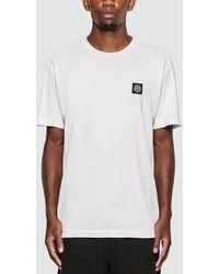 Stone Island Logo Patch T-shirt - White