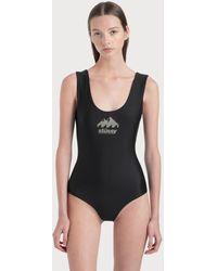 Stussy Coastline One Piece Swimsuit - Black