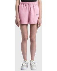 Ganni Software Isoli Shorts - Pink