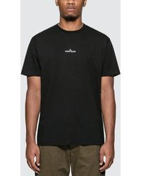 Stone Island Drone Two Logo T-shirt - Black