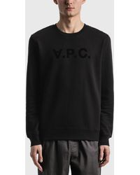 A.P.C. Vpc Sweatshirt - Black