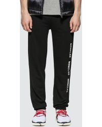 8c636923f Jersey Jogger Pants With Side Logo - Black