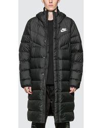 Nike Sportswear Windrunner Down Fill Parka - Black