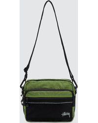 Stussy - Ripstop Nylon Shoulder Bag - Lyst