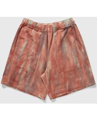 Stussy Dyed Easy Short - Red