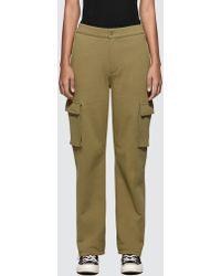 Stussy - Bix Fleece Cargo Pants - Lyst
