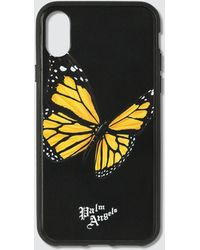 Palm Angels Butterfly Iphone Case Xs - Black