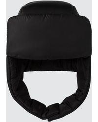 Prada - Padded Trapper Hat - Lyst
