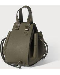 Loewe Hammock Small Top-handle Bag - Green