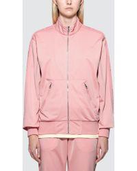 RIPNDIP - Kamasutra Satin Track Jacket Pink - Lyst
