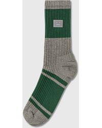Acne Studios Face Socks - Green