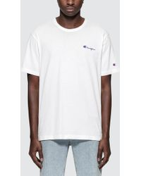 be806f3f4cd1 Lyst - Champion Core Script T-shirt in White for Men