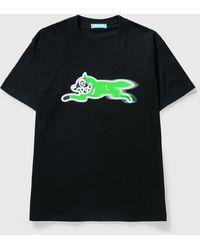 ICECREAM × Psychworld Running Dog T-shirt - Black