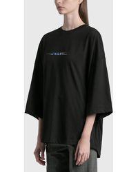 ADER error Oversized T-shirt - Black