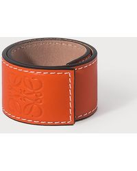 Loewe Small Slap Bracelet - Orange