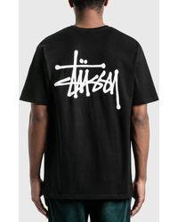 Stussy Basic T-shirt - Black