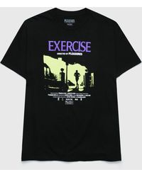 Pleasures Exercise T-shirt - Black