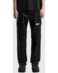 MISBHV 2-in-1 Cargo Trousers - Black