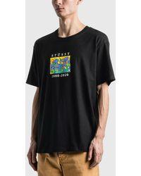 Stussy Irises T-shirt - Black