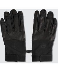 Stone Island Soft Shell-r Gloves - Black