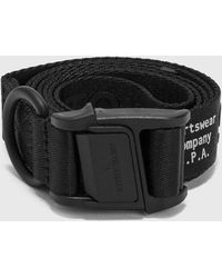 Stone Island Nylon Tape Belt - Black