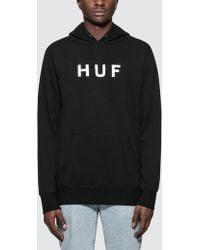 Huf - Essentials Og Logo P/o Hoodie - Lyst