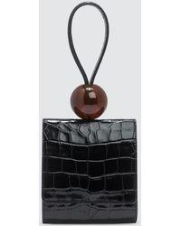 BY FAR Ball Top-handle Bag - Black