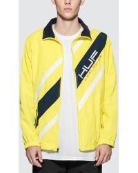 Huf Palisades Track Jacket - Yellow