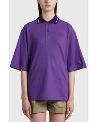 Loewe Oversize Anagram Polo - Purple