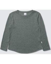 8b20aaabc Champion Long-sleeve Logo T-shirt in Black for Men - Save 48% - Lyst