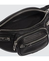 Alexander Wang Attica Soft Mini Fanny Crossbody - Black