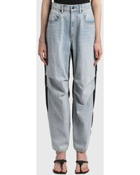 T By Alexander Wang Pack Mix Hybrid Jeans - Blue