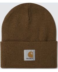 c4aaa9c458f Lyst - Carhartt Wip Anglistic Beanie in Blue for Men