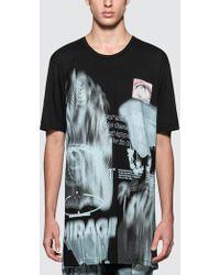 Boris Bidjan Saberi 11 - Black Mirage T-shirt - Lyst