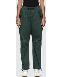 Maison Kitsuné Elasticated Pants - Green